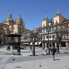 Plaza Mayor, Segovia, Spain