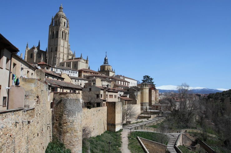 View over Segovia, Spain
