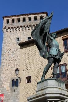 Medieval centre of Segovia, Spain
