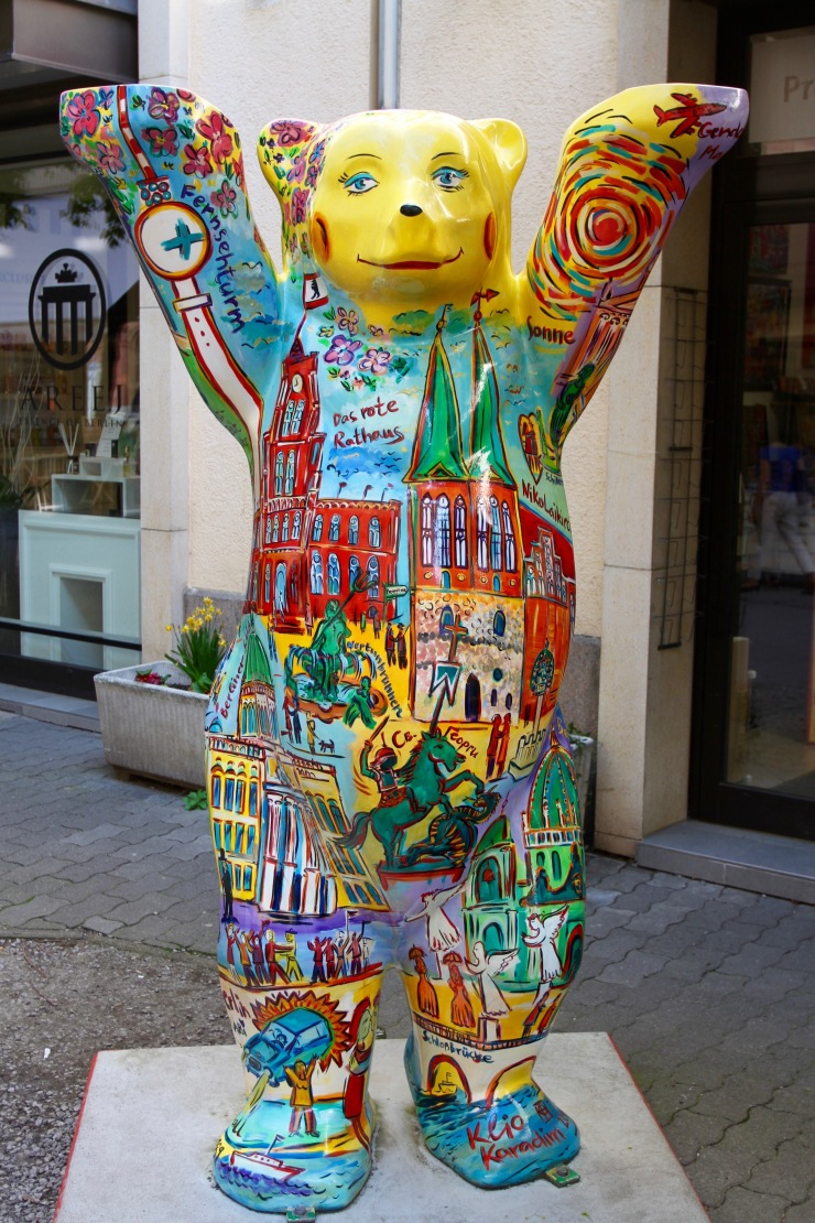 A bear, Berlin, Germany