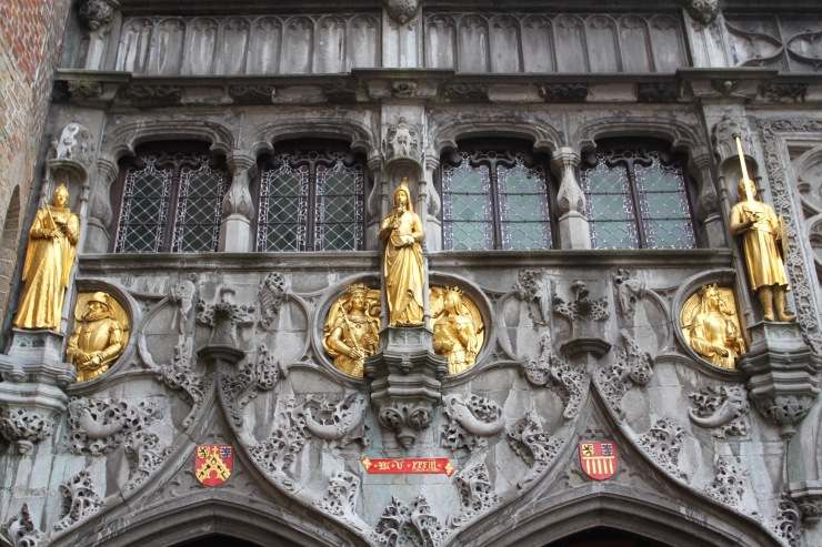 Basilica of the Holy Bloody Pedant, Bruges, Belgium