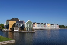 Colourful houses, Houten, Netherlands