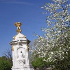 Beethoven-Hayden-Mozart Monument, Tiergarten, Berlin, Germany