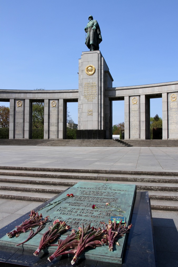 Russian war memorial, Berlin, Germany