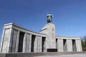 Russian war memorial, Berlin, Germany