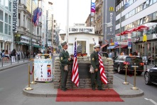 Check Point Charlie 2018, Berlin, Germany