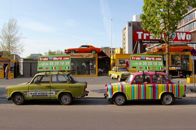 Trabant museum, Berlin, Germany
