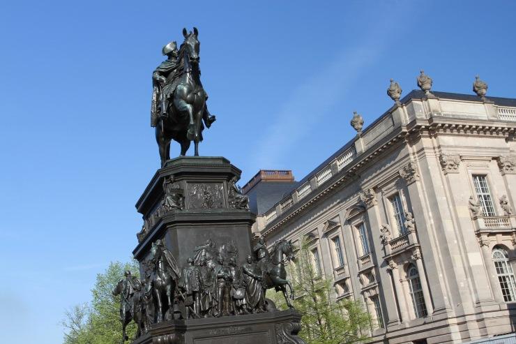 Statue of Friedrich II, Unter den Linden, Berlin, Germany