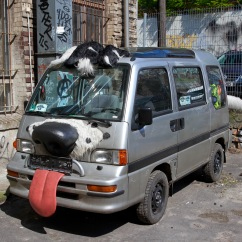 Dog car, Berlin, Germany