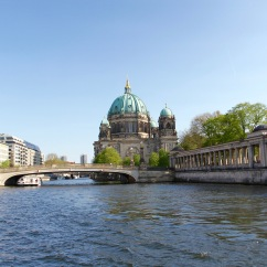 River Spree and Berliner Dom, Berlin, Germany