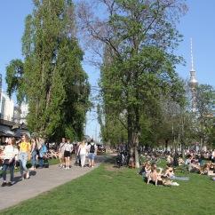People enjoying the sun, Mitte, Berlin, Germany