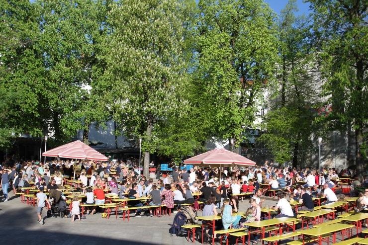 Prater Beer Garden, Berlin, Germany
