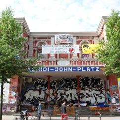 Rote Flora, Karolinenviertel, Hamburg, Germany