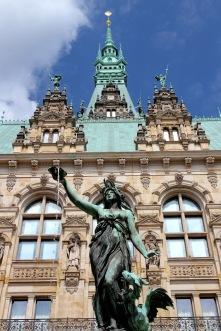 Rathaus, Hamburg, Germany
