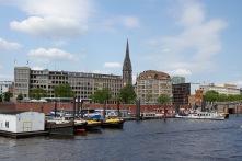 Hamburg harbour, Speicherstadt, Germany