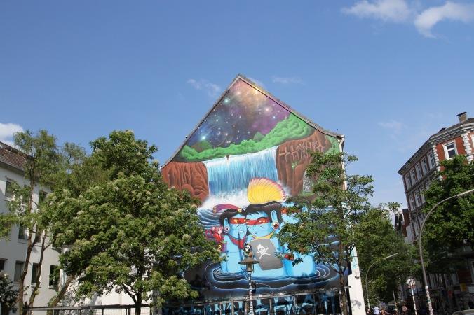Karolinenviertel, Hamburg, Germany