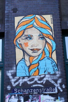 El Bocho, street artist, Hamburg, Germany