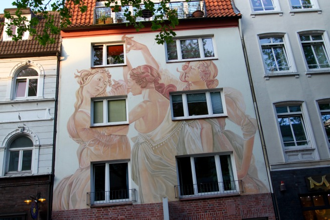 Street art, Hamburg, Germany