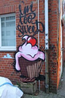 Street art, Hamburg, Germany