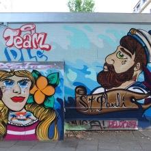 Ray DLC street art, Hamburg, Germany