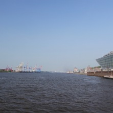 River Elbe, Port of Hamburg, Germany