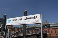 Altona Fischmarkt, Hamburg, Germany