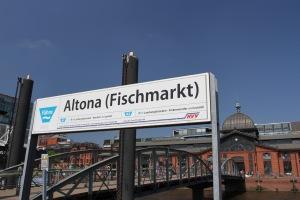 Altona Fischmarkt, Hamburg, Germany