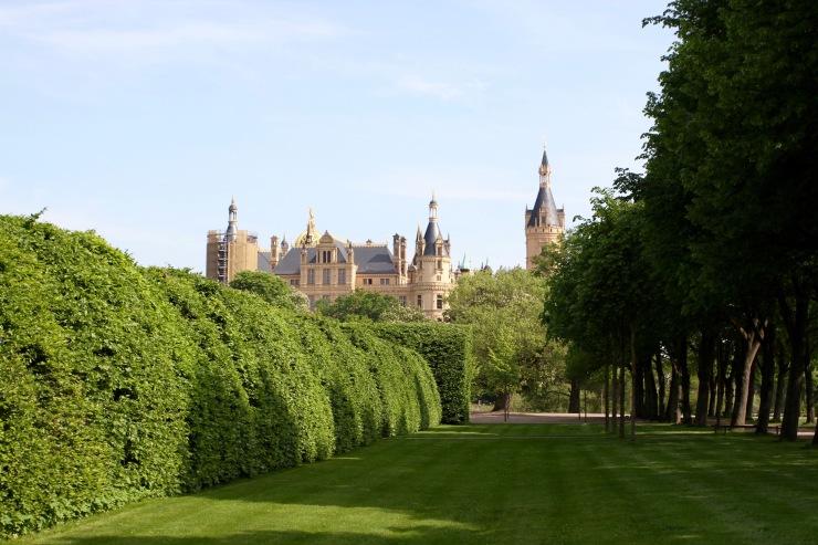 Gardens, Schloss Schwerin, Germany