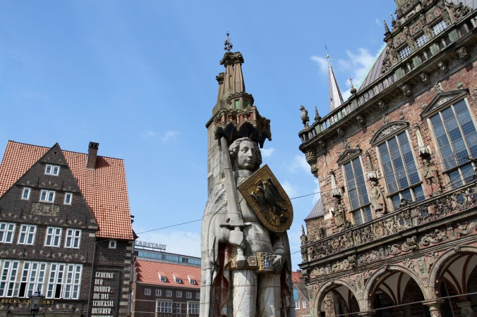Statue of Roland, Altstadt, Bremen, Germany
