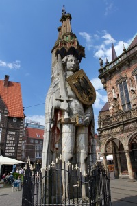 Statue of Roland, Altstadt, Bremen, Germany