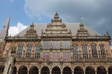 Gothic Town Hall, Altstadt, Bremen, Germany