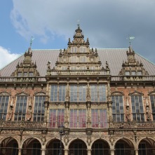 Gothic Town Hall, Altstadt, Bremen, Germany