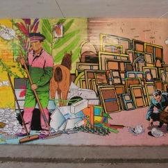 Underpass art, Bremen, Germany