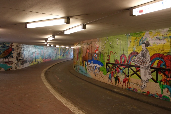 Underpass art, Bremen, Germany