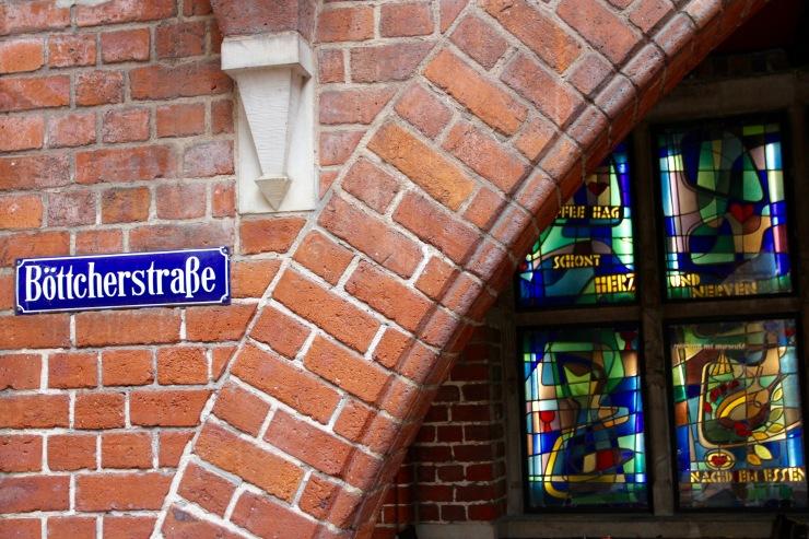 Böttcherstrasse, Altstadt, Bremen, Germany