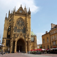 Saint Stephen's cathedral, Metz, France