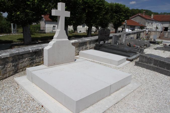 Charles de Gaulle's grave, Colombey-les-deux-Églises, France