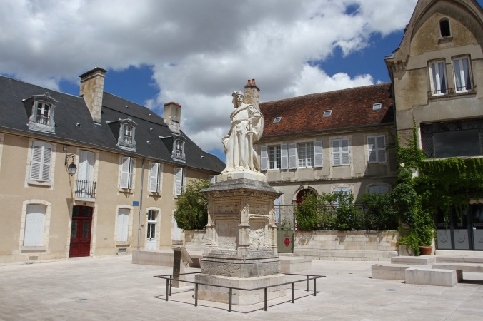 Jacques Coeur statue, Bourges, France
