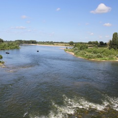 River Loire, Amboise, Loire Valley, France