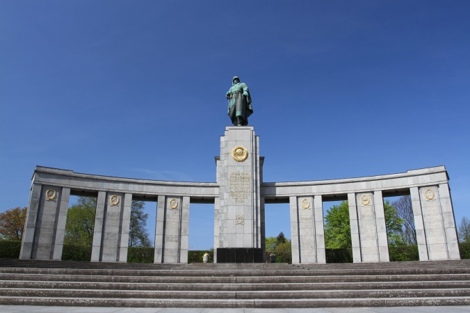 Russian War Memorial, Tiergarten, Berlin