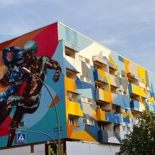 Sokar Uno and El Nasca Street Art, Berlin, Germany