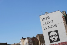 How Long Is Now, Street Art, Berlin, Germany