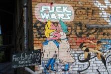 Fuck Wars, Street Art, Berlin, Germany
