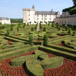 Jardin de l'Amour, Château de Villandry, Loire Valley, France