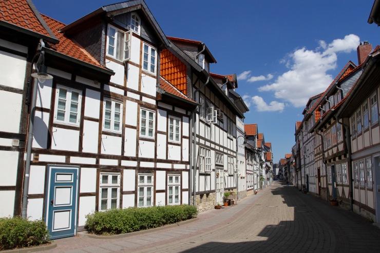Timber-framed houses, Wolfenbüttel, Germany