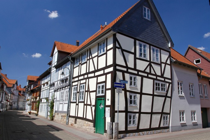 Timber-framed houses, Wolfenbüttel, Germany