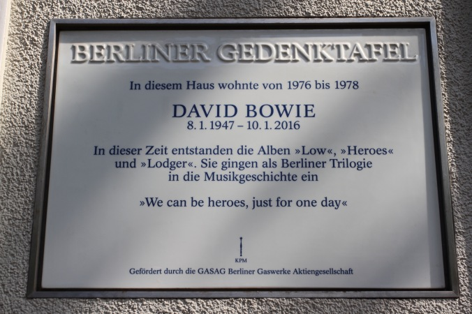David Bowie memorial, Berlin, Germany