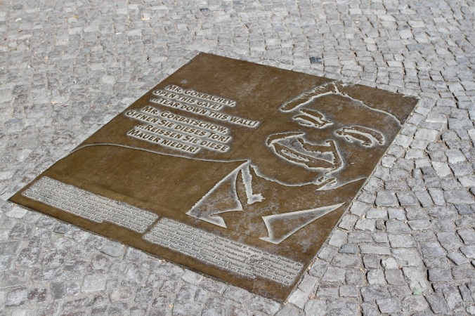 Memorial to Ronald Regan, Berlin, Germany