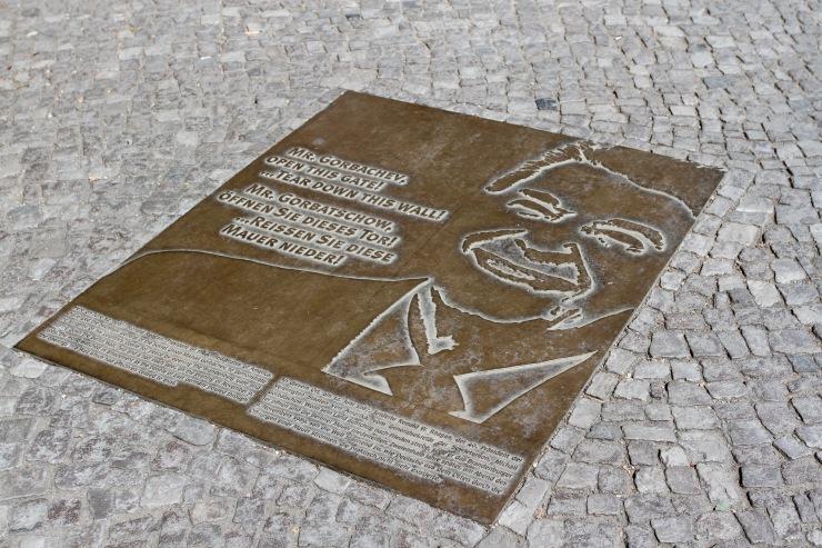 Memorial to Ronald Regan, Berlin, Germany
