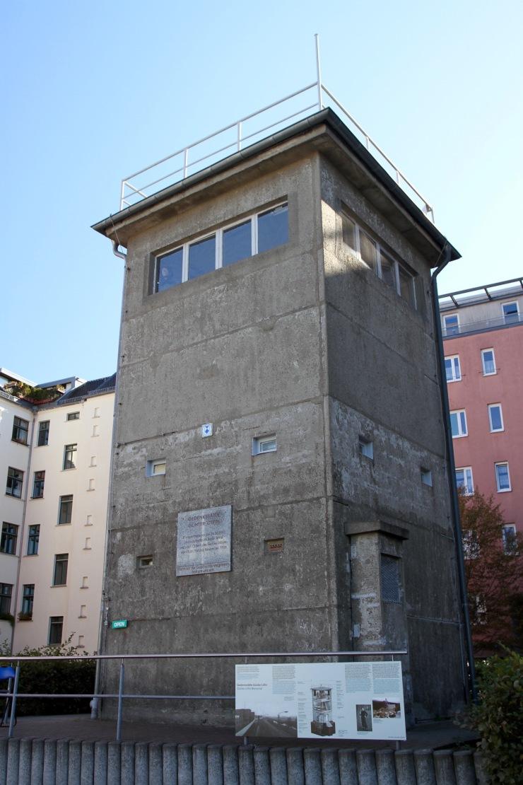 East German Observation Tower, Berlin Wall, Germany